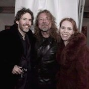 David Rawlings, Robert Plant, & Gillian Welch at Hardly Strictly Bluegrass, Golden Gate Park 2009.