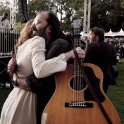 Gillian Welch & Steve Earle at Hardly Strictly Bluegrass, Golden Gate Park 2009.