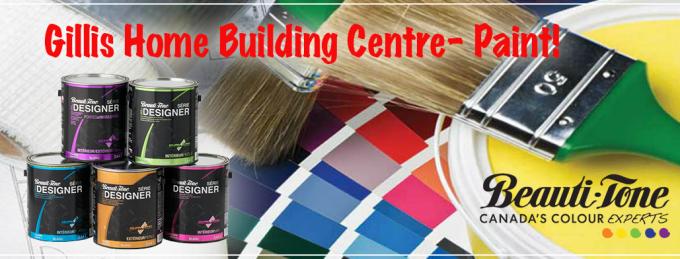 Gillis Home Building Centre - Paint Supplies Cape Breton