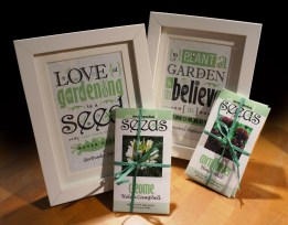 Get your inspiration by this poster To plant a garden is to beleive in tomorrow and The love of gardening is a seed once sown that never dies
