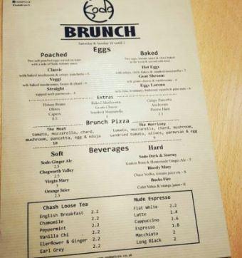 sodo brunch menu