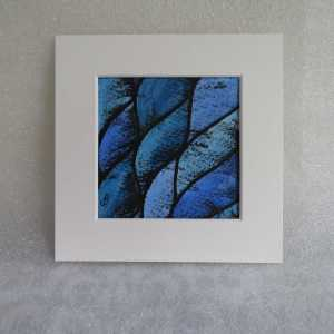 Miniature abstract watercolour and ink