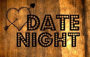date night wooden sign