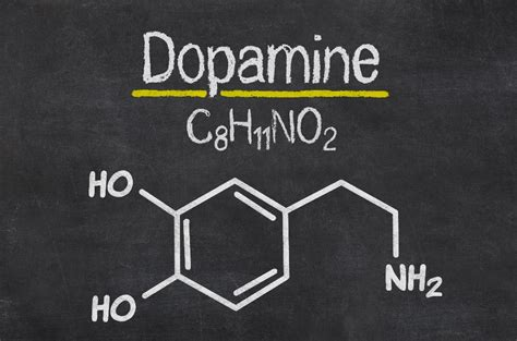 chemical structure of dopamine