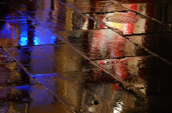 Wet pavement 3