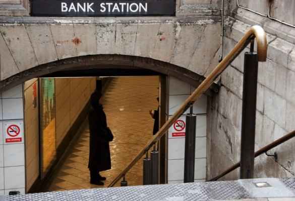 Bank Tube station, London