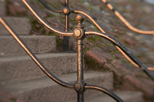 Railings, River Dee, Chester