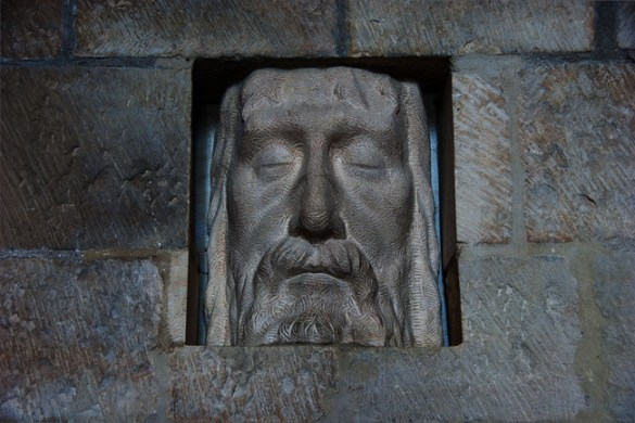 Face, Lincoln Cathedral