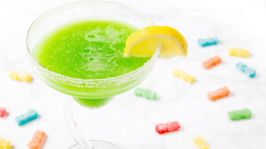 sour patch margarita — candy-inspired cocktails