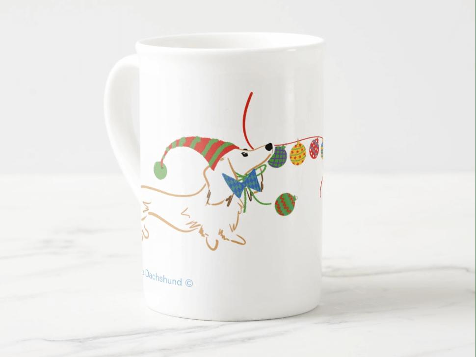 Briley and Baxter Christmas mug