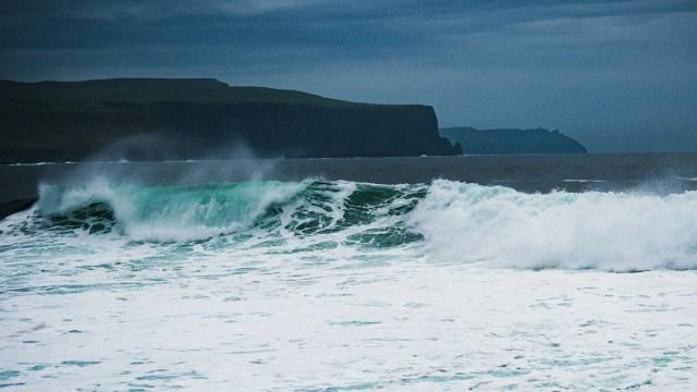 La mer à Doolin