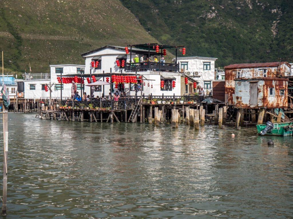 Cabane de pécheur à Tai O