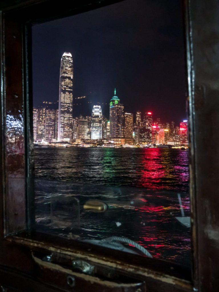 A bord du ferry
