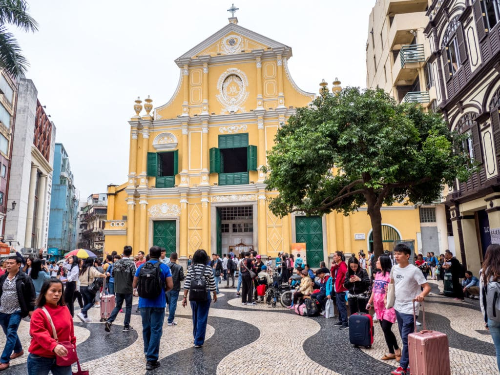 Centre ville portugais de Macao