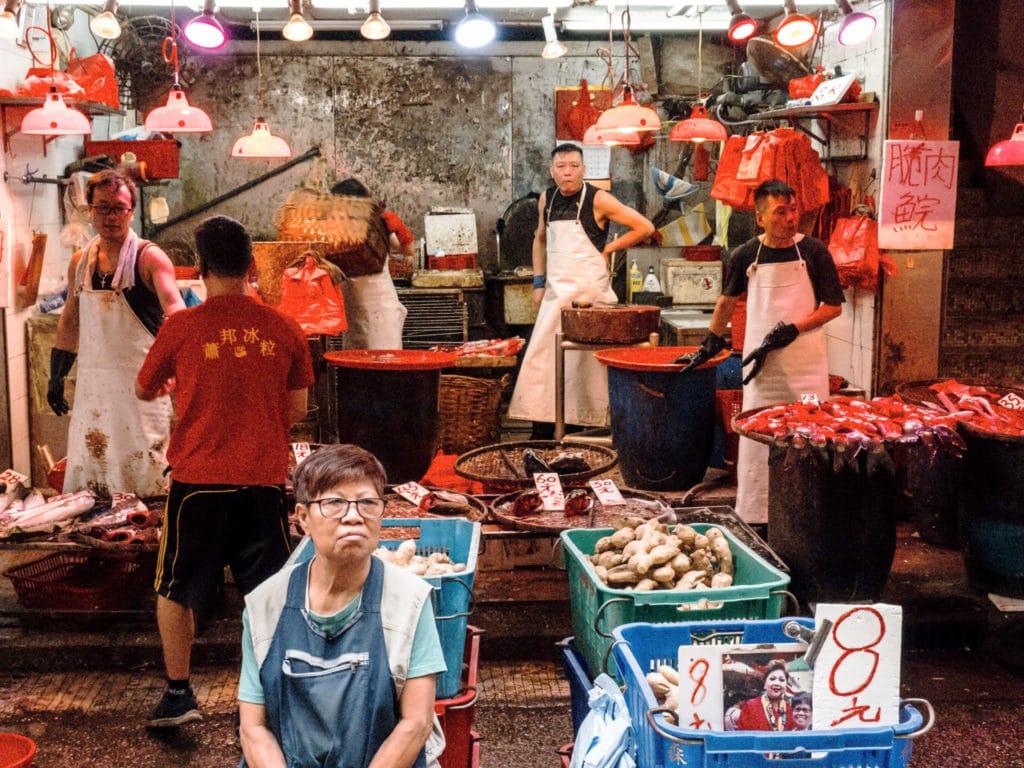 Marché de Mong Kok