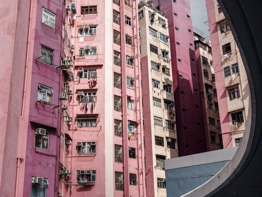 La vie en rose à Mong Kok