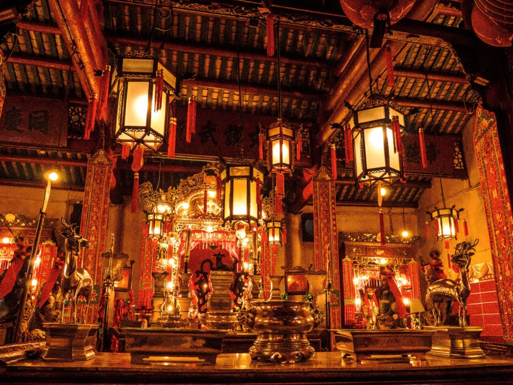 Temple de Man Mo - Sheung Wan