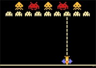 space invaders on https://gilscow.wordpress.com/2014/11/06/space-invaders/