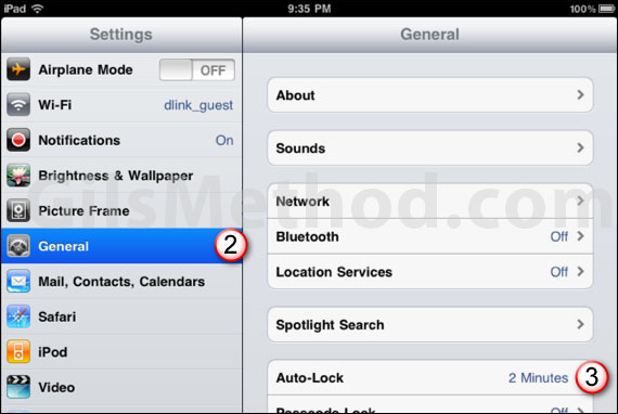 ipad auto lock 7 Tips to Help You Maximize Your iPads Battery Life