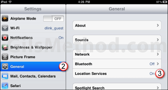 ipad battery tip location services 7 Tips to Help You Maximize Your iPads Battery Life