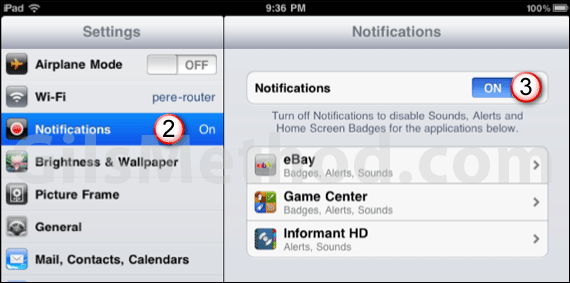 notifications 7 Tips to Help You Maximize Your iPads Battery Life