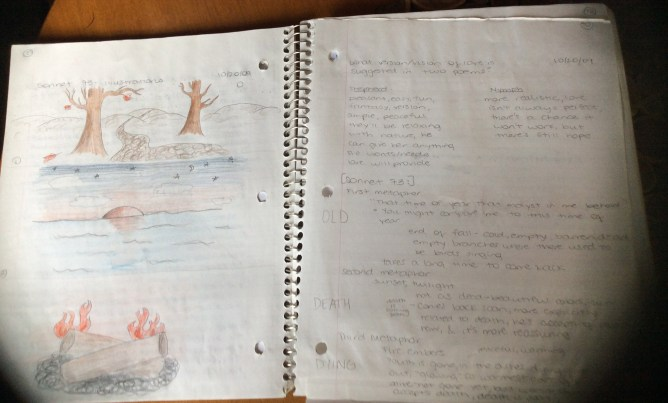 interactive notebook activity shakespeare