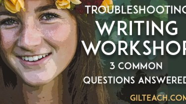 troubleshooting writing workshop