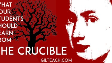 what your students should learn from the crucible