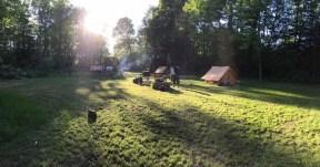 Lejrplads på Gilwellengen. Foto: Terkel Frank Bruun
