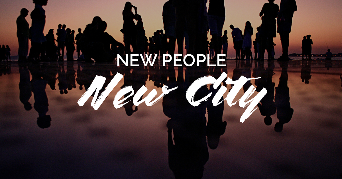 The CROWD Guide To Meeting People In A New City