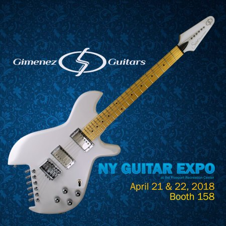 Gimenez Guitars at NY Guitar Expo