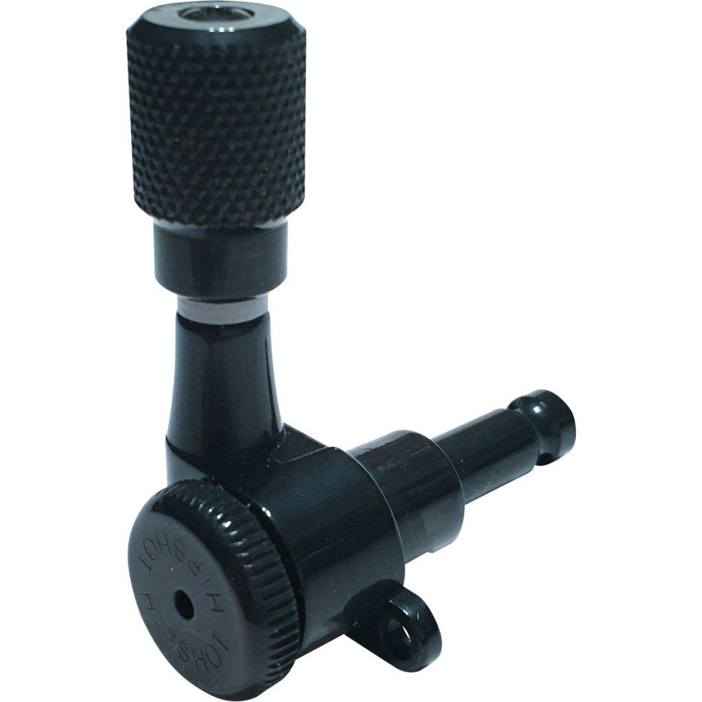 Hipshot Grip-Lock™ Closed Guitar Tuning Machines - Black