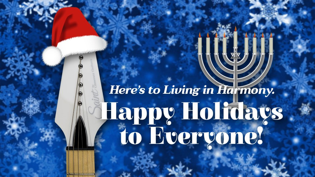 Happy Holidays from Gimenez Guitars feature image