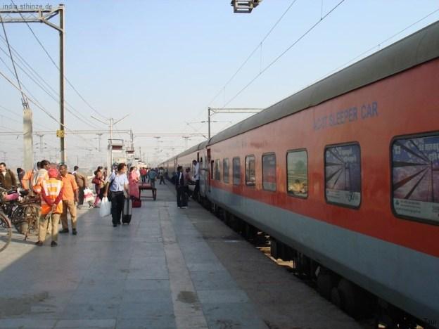 Nachtzug nach Delhi