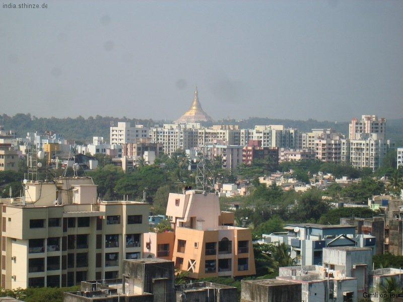 Blick über Mumbai