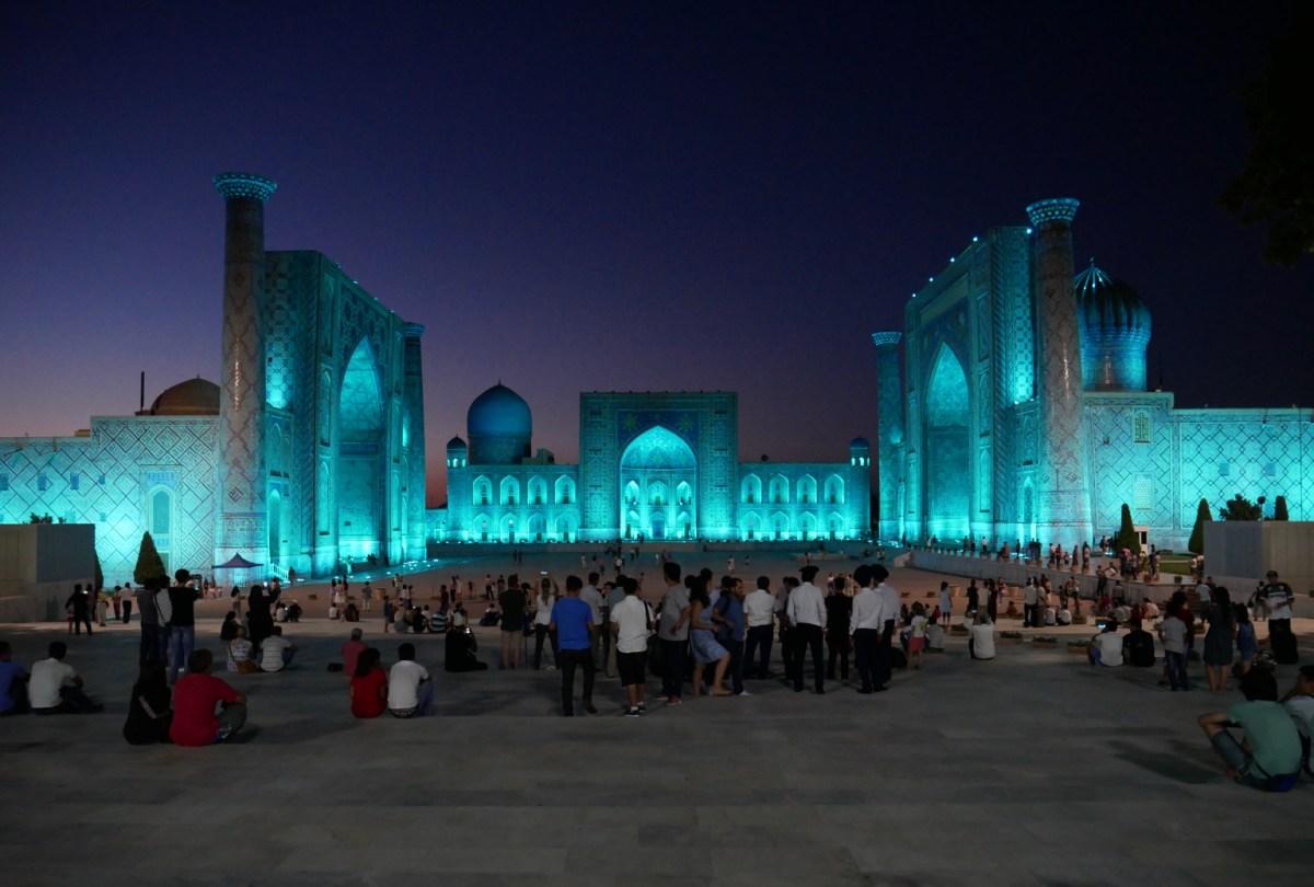 Samarkand – Ein Traum in Türkis 1. Teil