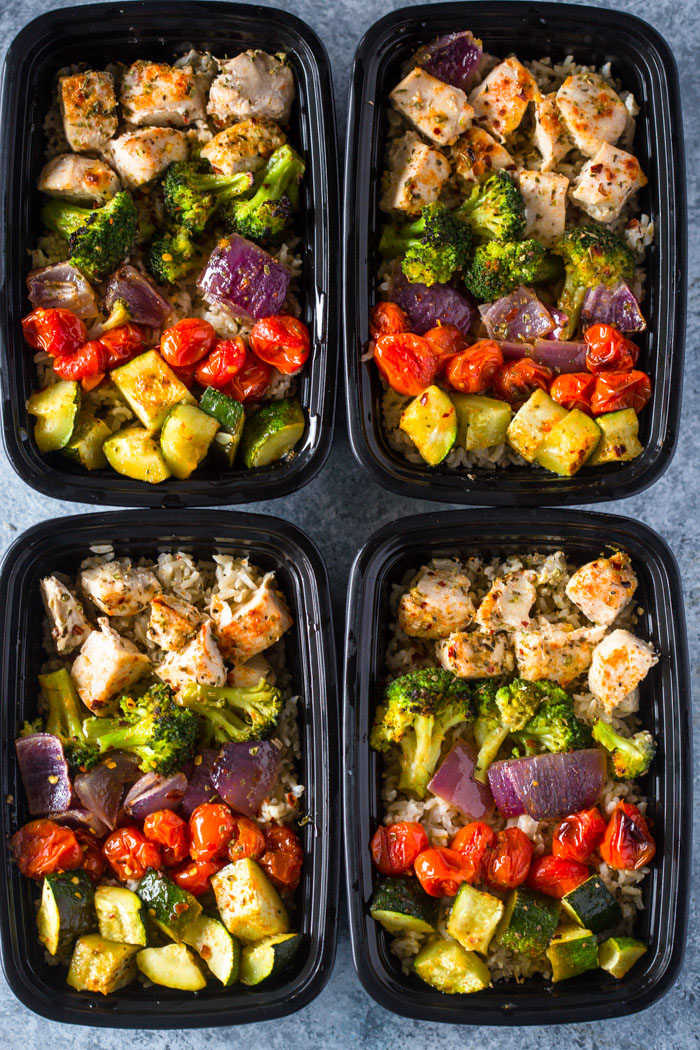 meal-prep-roasted-veggies-and-chicken-2 how to meal prep