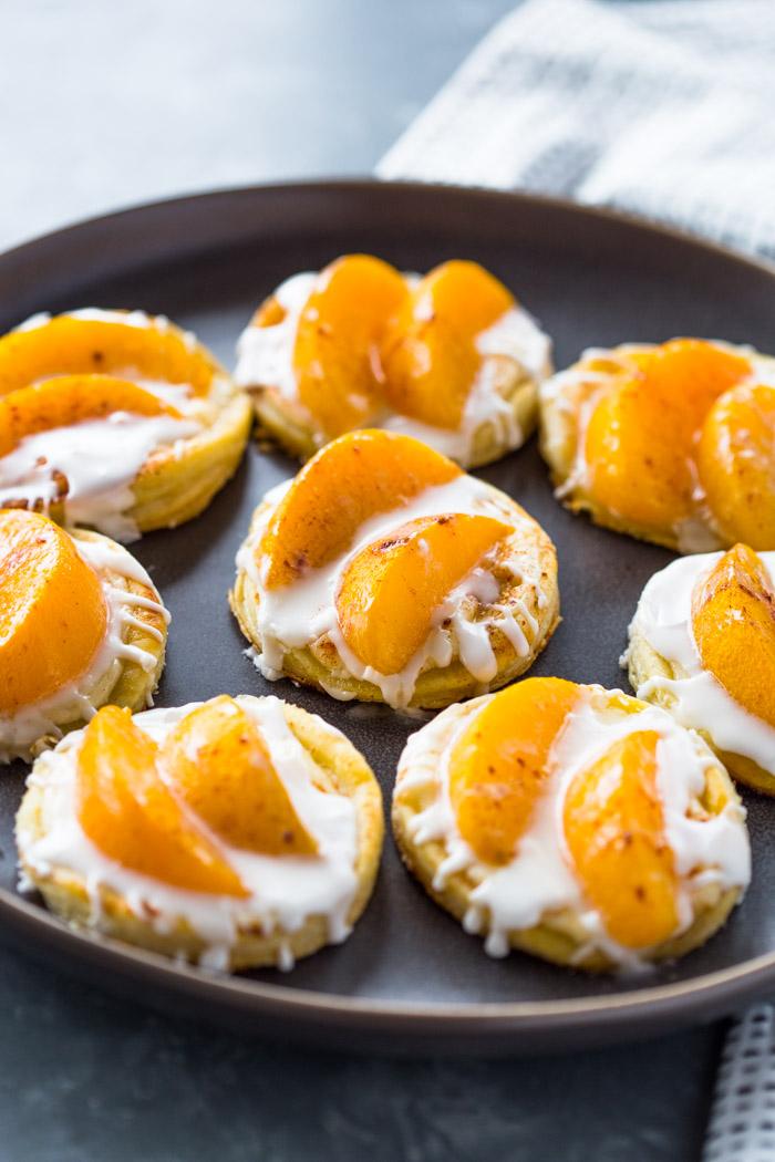 Peaches and Cream Pastries