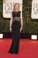 Nicole Kidman looks ageless and fierce in Alexander McQueen gown.