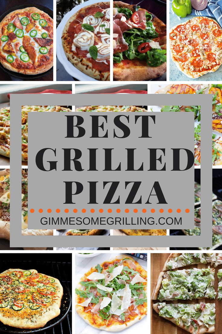 Best Grilled Pizza Recipes ~ Tons of delicious pizza on the grill recipes from you favorite bloggers! We have gluten-free, cheese, meat, veggie and everything in between. Which grilled pizza recipe will be your new favorite? If you haven't tried pizza on the grill yet you need to! via @gimmesomegrilling