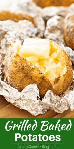 light fluffy baked potatoes