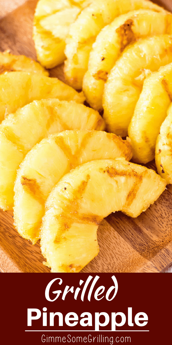 This delicious pineapple is coated in brown sugar and then grilled to perfection! It only requires two ingredients and five minutes. You can eat it for a side with the rest of your meal or as dessert it's that delicious!