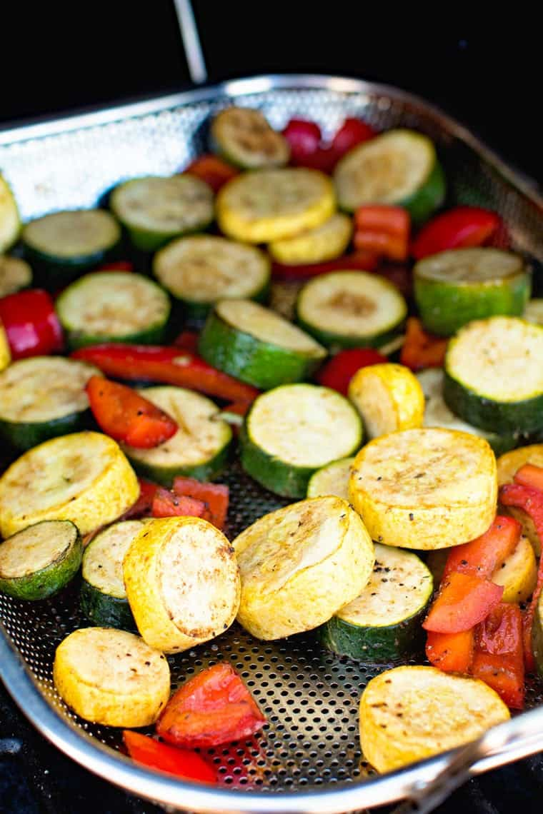 easy smoked vegetables on smoker
