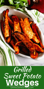 grilled sweet potatoes pinterest collage