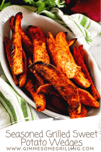 Grilled Sweet Potatoes Pinterest collage 4