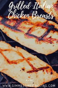 Grilled Italian Chicken Breasts Pinterest 2