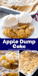 Apple Dump Cake Pinterest 3