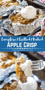Campfire Apple Crisp Pinterest 1