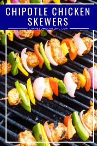 Chipotle Chicken Skewers Pinterest 4