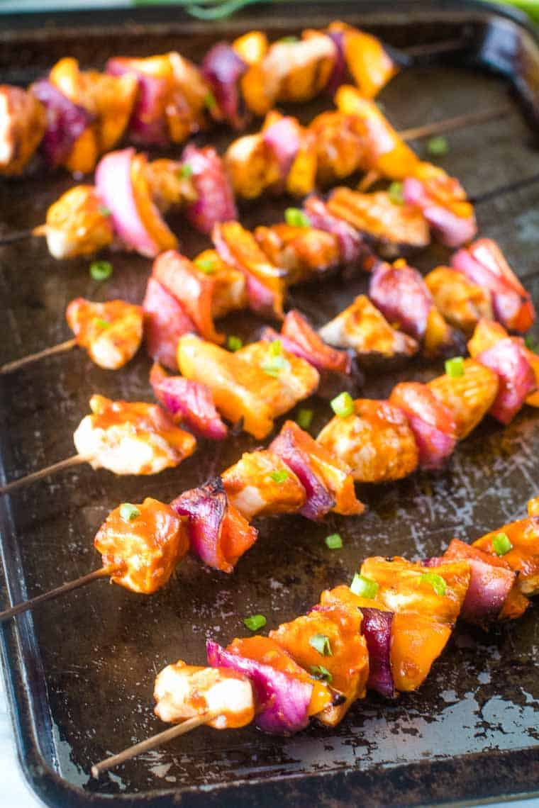 Buffalo Chicken Kabobs